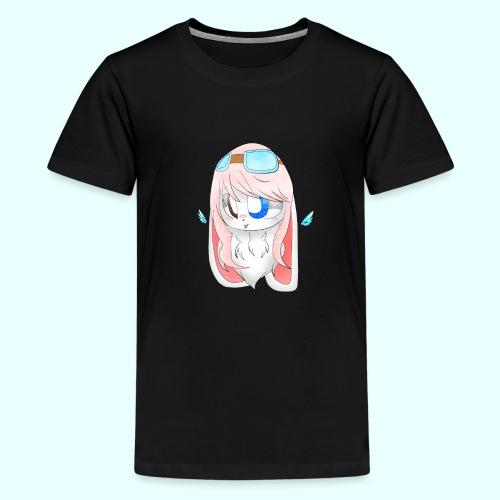 the bunny girl - Kids' Premium T-Shirt