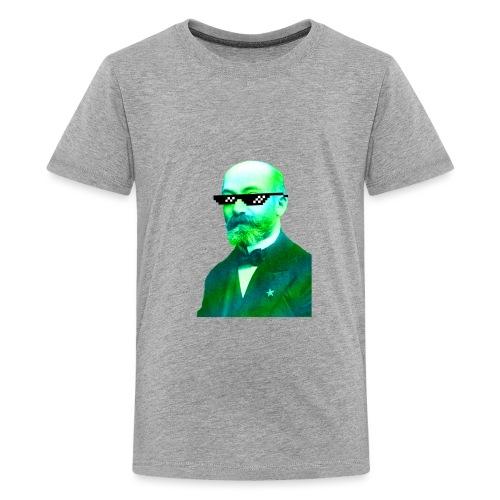 Green and Blue Zamenhof - Kids' Premium T-Shirt
