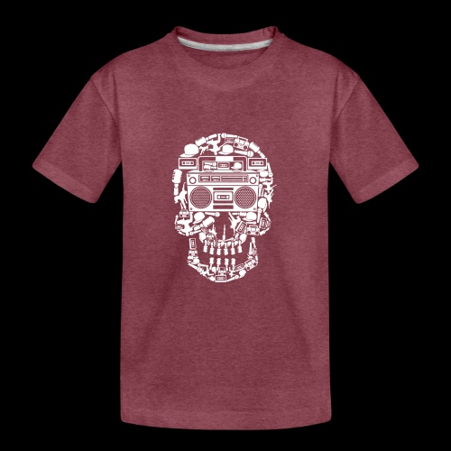 Audio Skull - Kids' Premium T-Shirt