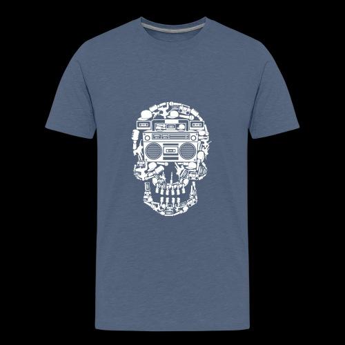 Audio Skull - Kids' Premium T-Shirt