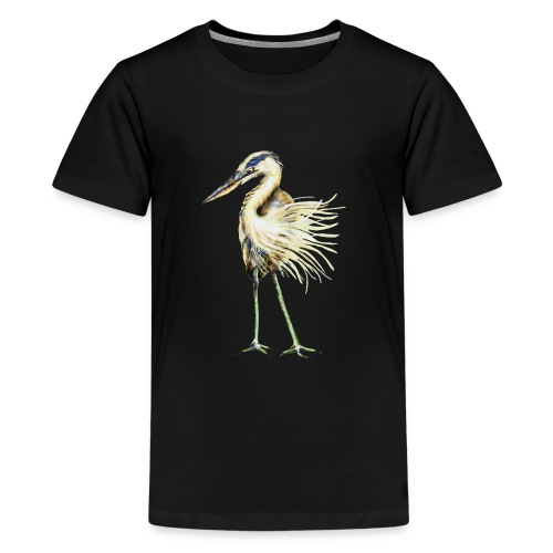 Great Blue Heron - Kids' Premium T-Shirt