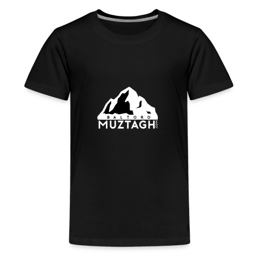 Baltoro_Muztagh_White - Kids' Premium T-Shirt