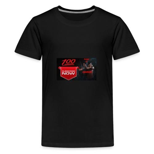 tomfam_vlogs keep it comin - Kids' Premium T-Shirt