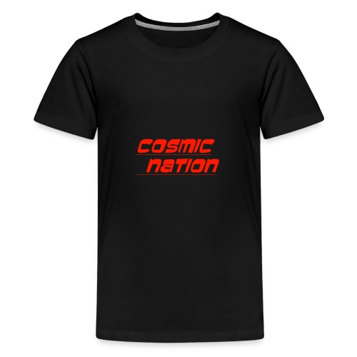 Cosmic Nation Logo - Kids' Premium T-Shirt