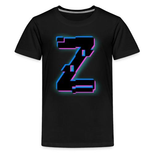 Glitchy Z - Kids' Premium T-Shirt
