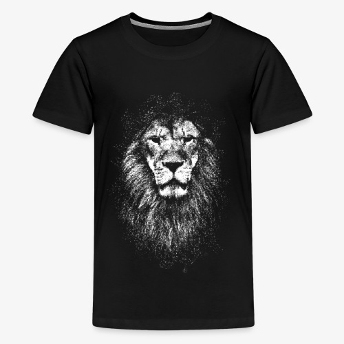 white lion - Kids' Premium T-Shirt