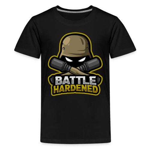 Battle hardened Logo - Kids' Premium T-Shirt