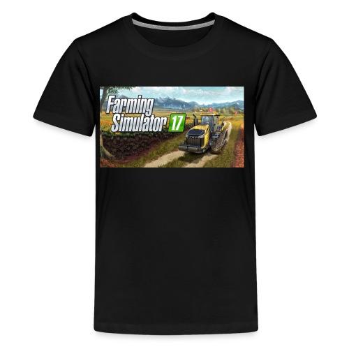 Farming Simulator 2017 Merchandise - Kids' Premium T-Shirt
