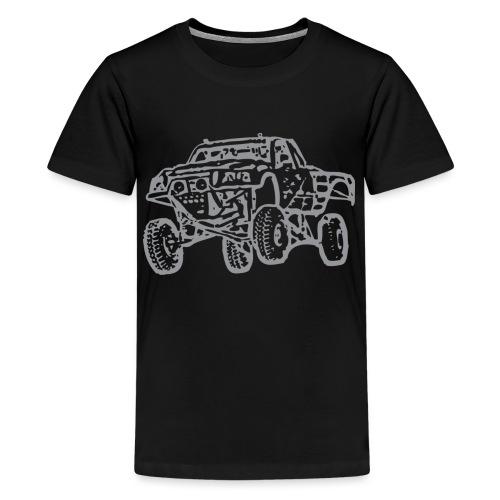 Jump Truck Grey - Kids' Premium T-Shirt