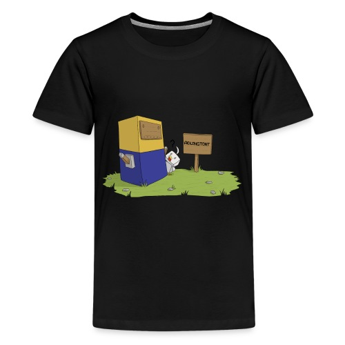 Mini Minion by Seiaeka - Kids' Premium T-Shirt