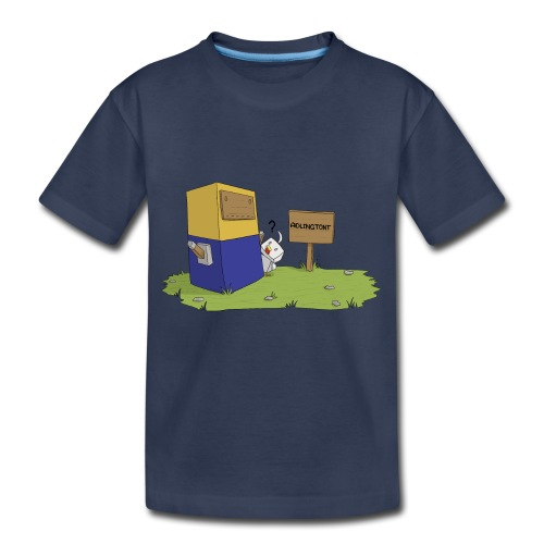 Mini Minion by Seiaeka - Kids' Premium T-Shirt