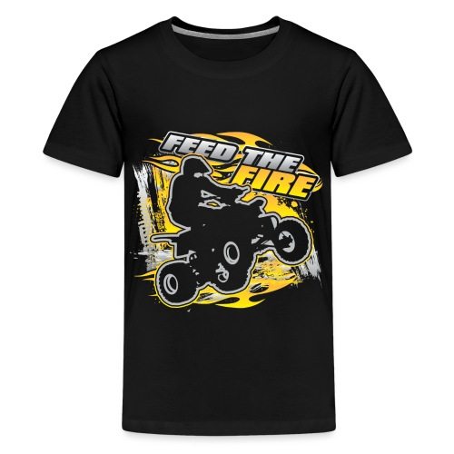 ATV Quad Feed the Fire - Kids' Premium T-Shirt