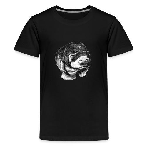 Manatee sketch - Kids' Premium T-Shirt
