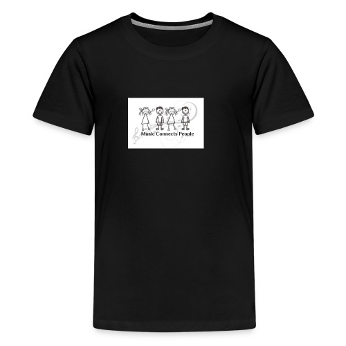 Music Connects People Shirt - Kids' Premium T-Shirt