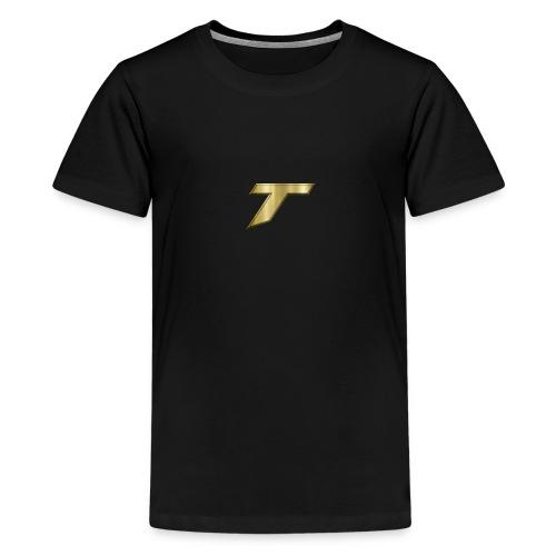gold tare logo - Kids' Premium T-Shirt