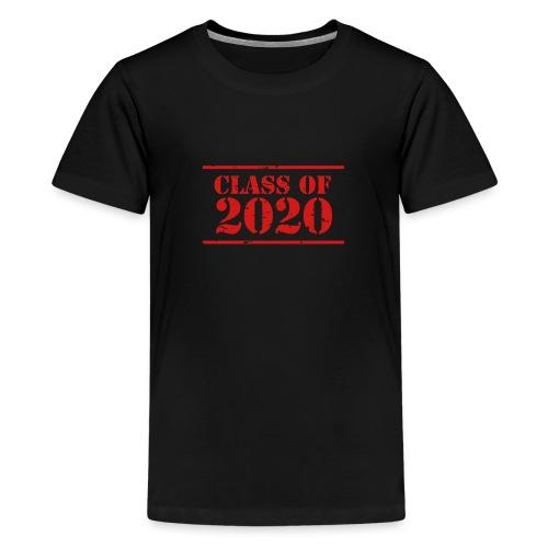 Class of 2020 stencil - Kids' Premium T-Shirt