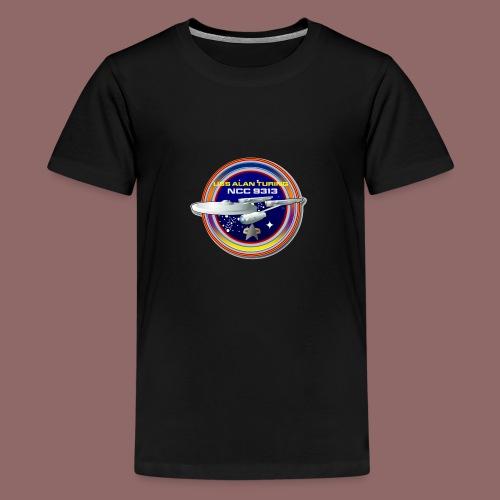 Alan Turing Ship Patch - Kids' Premium T-Shirt