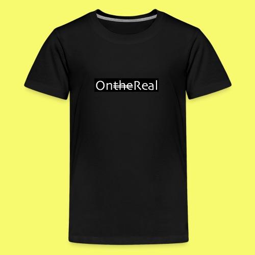 OntheReal coal - Kids' Premium T-Shirt