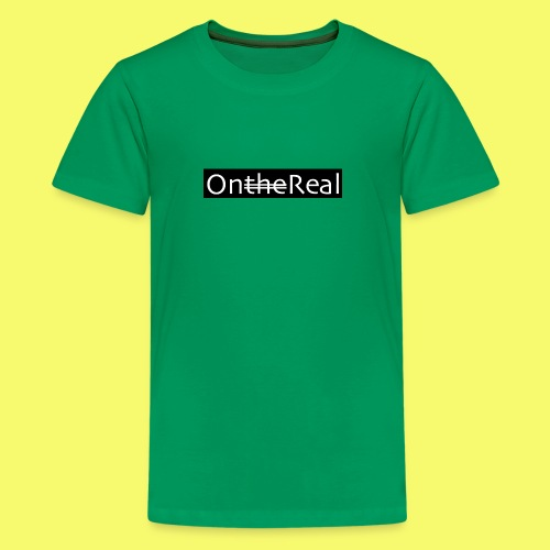 OntheReal coal - Kids' Premium T-Shirt