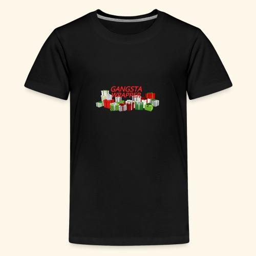 GANGSTA WRAPPER - Kids' Premium T-Shirt