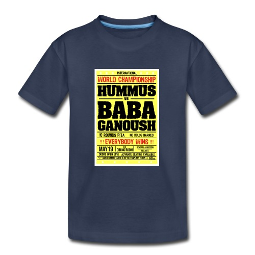 Hummus vs Baba Ganoush - Kids' Premium T-Shirt