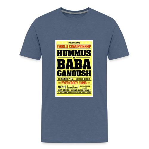 Hummus vs Baba Ganoush - Kids' Premium T-Shirt