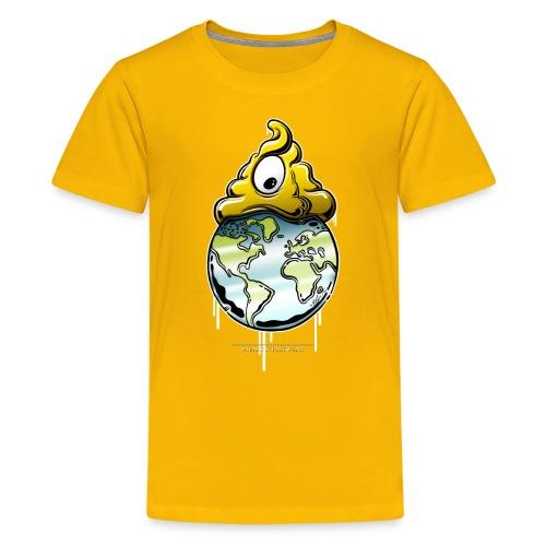 shit rules the world - Kids' Premium T-Shirt