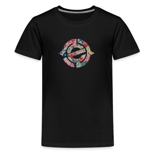 Enter Floral Logo - Kids' Premium T-Shirt