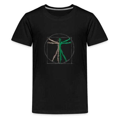 Da Vinci Alien Man - Kids' Premium T-Shirt