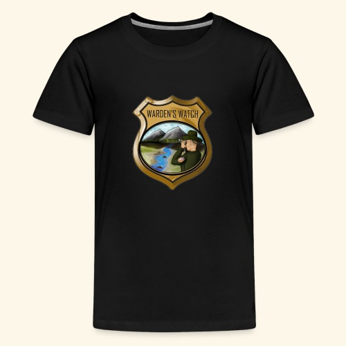 Warden s Watch Front and Back - Kids' Premium T-Shirt