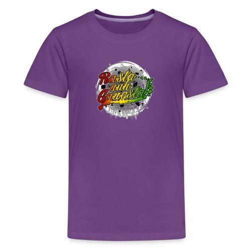 Rasta nuh Gangsta - Kids' Premium T-Shirt