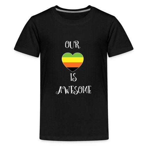 Aromantic Love Is Awesome - Kids' Premium T-Shirt