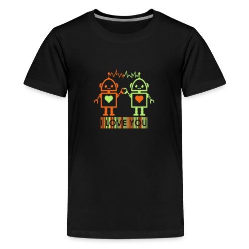 Robot Couple - Kids' Premium T-Shirt
