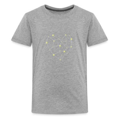 Heart in the Stars - Kids' Premium T-Shirt