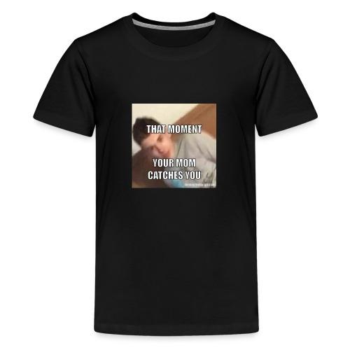 MOM I'M DOING SOMETHING - Kids' Premium T-Shirt