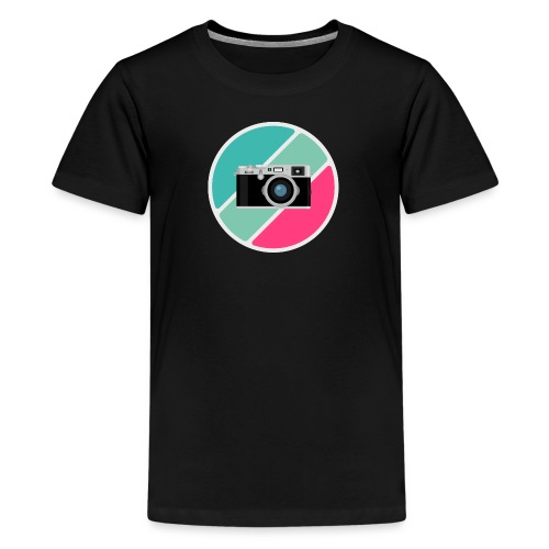 Flat Design Camera - Kids' Premium T-Shirt