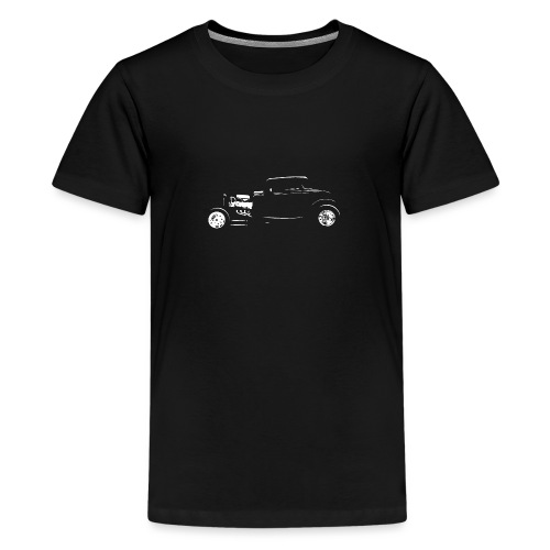 Thirties Custom Hot Rod Silhouette - Kids' Premium T-Shirt