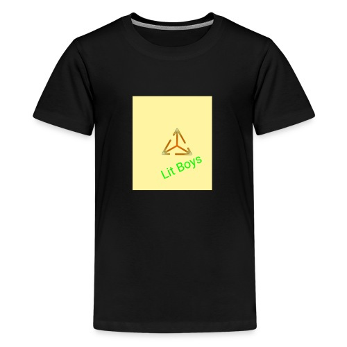 Lit Boys Don't Care merch - Kids' Premium T-Shirt