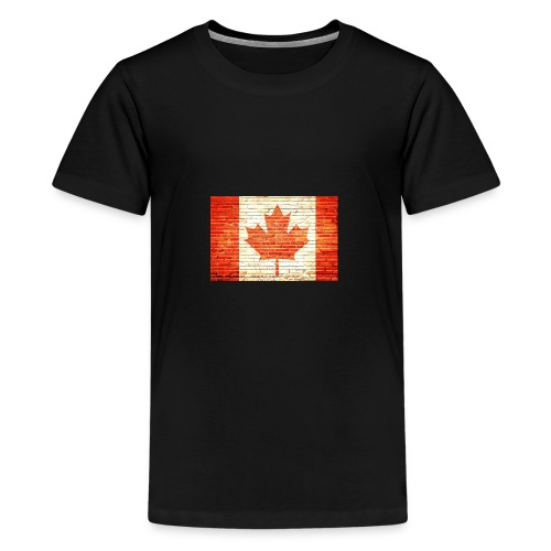 Canada flag - Kids' Premium T-Shirt