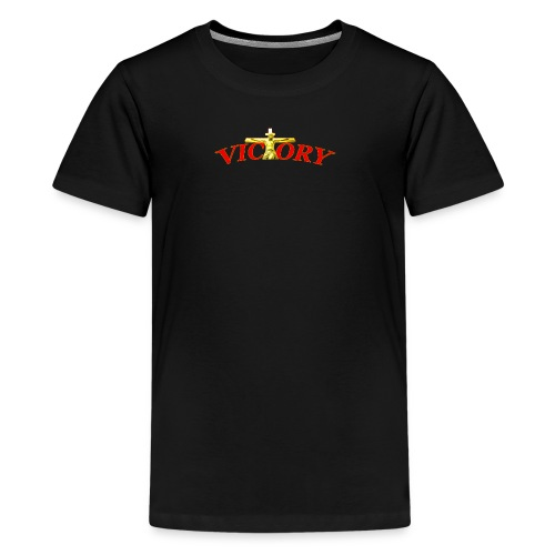 Victory In Jesus Christ - Kids' Premium T-Shirt