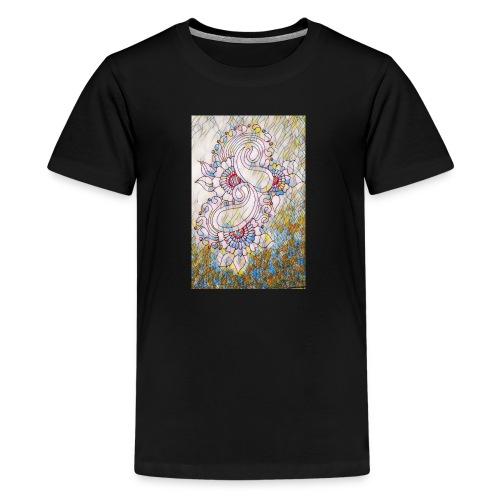 Henna glass - Kids' Premium T-Shirt