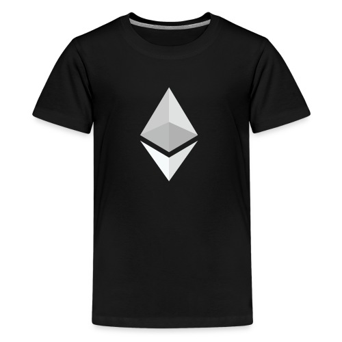 Ethereum Logo Light - Kids' Premium T-Shirt