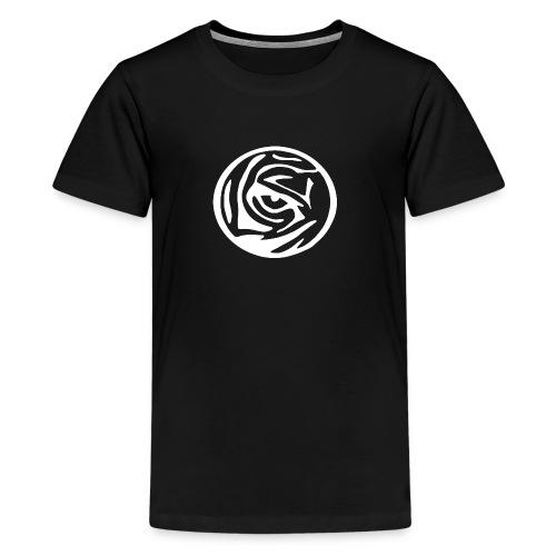 EYE OF THE TIGER WHITE LOGO - Kids' Premium T-Shirt