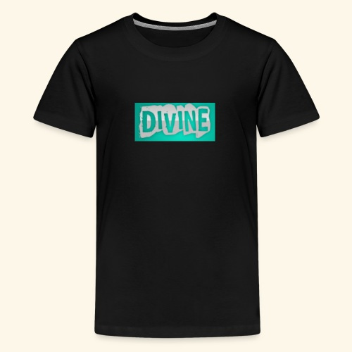 DIVINE - BLUE STICK LOGO - - Kids' Premium T-Shirt