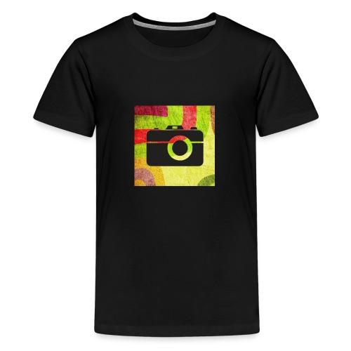Stylist camera design - Kids' Premium T-Shirt