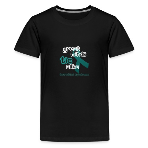 Tourette's Syndrome - Great Minds Tic Alike - Kids' Premium T-Shirt