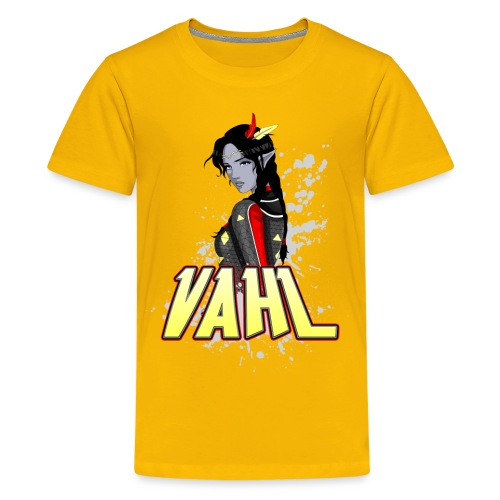 Vahl Cel Shaded - Kids' Premium T-Shirt