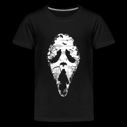 Reaper Screams | Scary Halloween - Kids' Premium T-Shirt