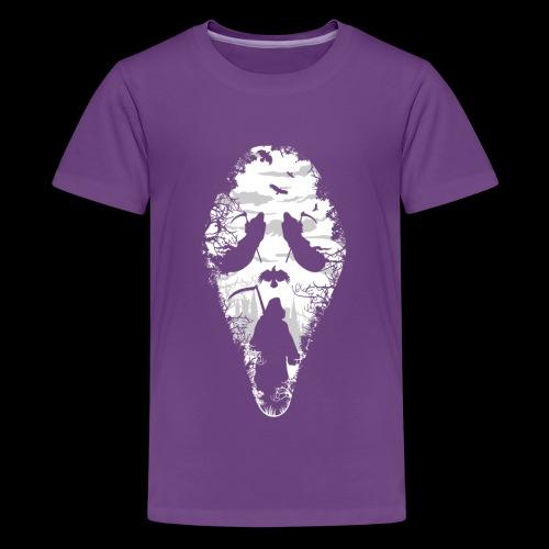 Reaper Screams   Scary Halloween - Kids' Premium T-Shirt