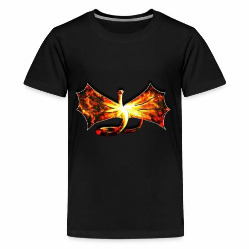 Flaming winged Serpent - Kids' Premium T-Shirt